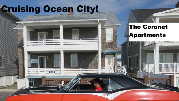 Ocean City Cruisers At The Coronet Apartments!