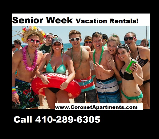 Ocean City Apartments For Senior Week