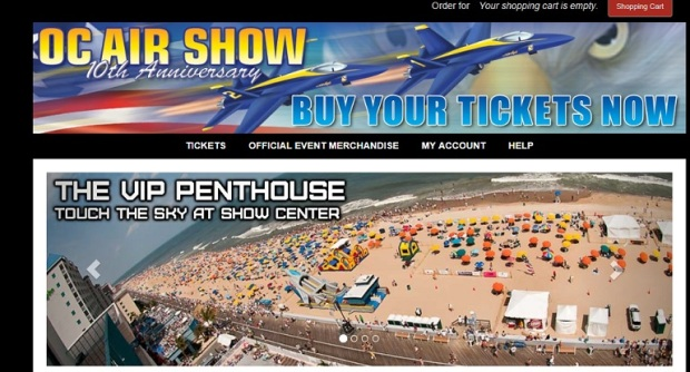 The Coronet Apartments – Perfect Spot To View The Ocean City AirShow!