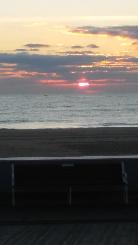 Today's Sunrise! Ocean City Maryland -From The Coronet Apartments!