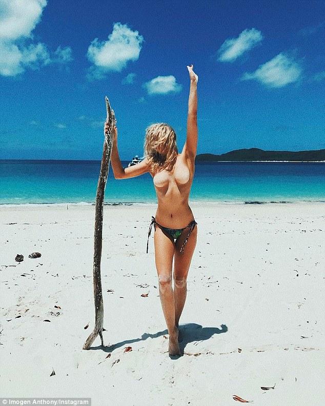 Nude beach vacation