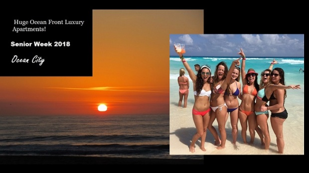 Senior Week 2018! Book Now To Save Money! Ocean City Vacation
